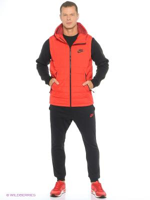 Жилет M NSW DOWN FILL VEST Nike. Цвет: красный