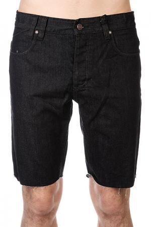 Шорты джинсовые  114106b Black Rinse Insight. Цвет: черный