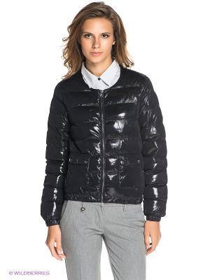 Куртка ICHI. Цвет: черный