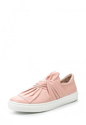 Слипоны D.Moro. Цвет: розовый
