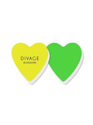 Набор полировочных бафферов dolly collection DIVAGE. Цвет: желтый