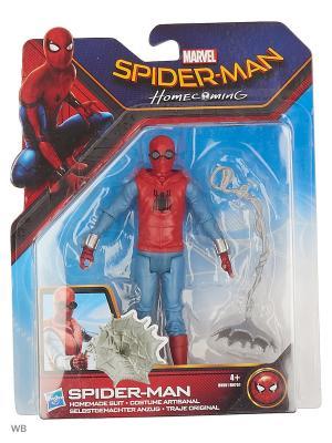 Фигурки паутинный город 15 см Spider-Man. Цвет: синий, лазурный, темно-красный