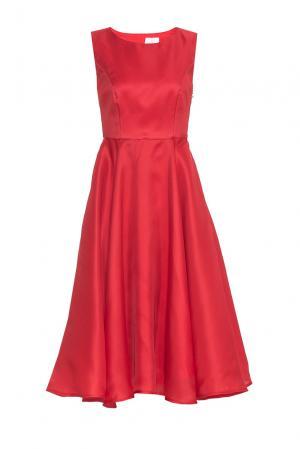 Платье из шелка PG-180637 Studia Pepen. Цвет: красный