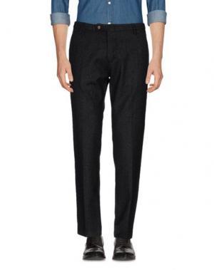 Повседневные брюки MICHAEL COAL. Цвет: стальной серый