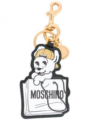 Брелок Pudge Moschino. Цвет: белый