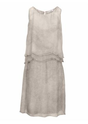 Платье LINEA TESINI by Heine. Цвет: серый