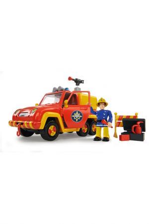 Пожарный Сэм с функцией воды Simba. Цвет: красный