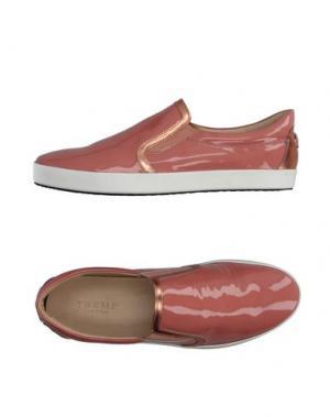 Низкие кеды и кроссовки TREMP. Цвет: розовый