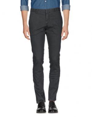 Повседневные брюки HERMAN & SONS. Цвет: стальной серый