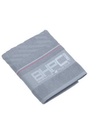 Банное полотенце, 80х150 Beverly Hills Polo Club. Цвет: серый