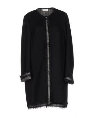 Легкое пальто CALALUNA. Цвет: черный