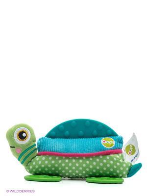 Игрушка развивающая Черепаха Oops. Цвет: зеленый, голубой
