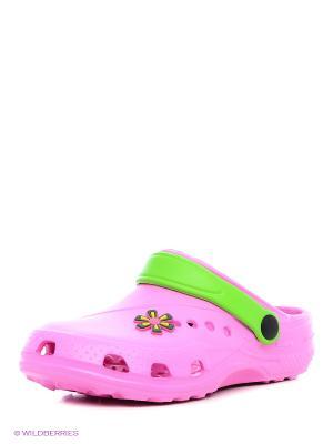 Сабо Дюна. Цвет: розовый, зеленый
