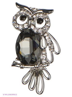 Брошь Lovely Jewelry. Цвет: черный
