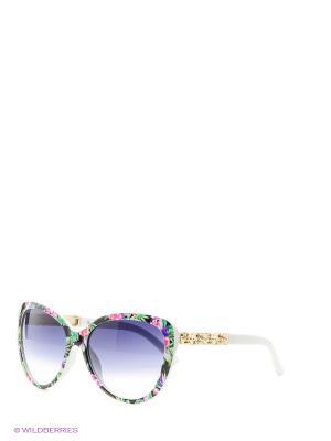 Солнцезащитные очки Vittorio Richi. Цвет: черный, зеленый, белый