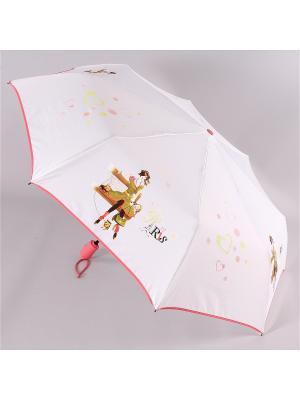 Зонт Airton. Цвет: белый, розовый