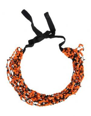 Ожерелье MARIA CALDERARA. Цвет: оранжевый