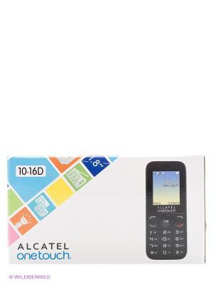 Телефон 1016D Alcatel Russia Pure White. Цвет: белый, антрацитовый, черный