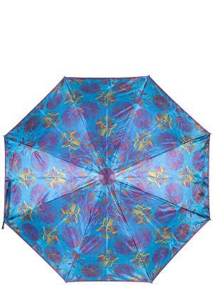 Зонт Eleganzza. Цвет: синий, фиолетовый, хаки