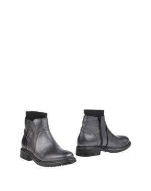 Полусапоги и высокие ботинки CHIARINI BOLOGNA. Цвет: стальной серый