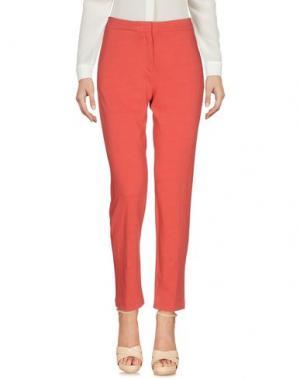 Повседневные брюки E_GO' SONIA DE NISCO. Цвет: коралловый