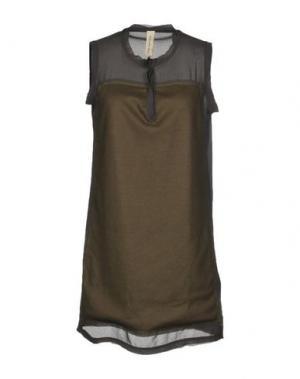Короткое платье COAST WEBER & AHAUS. Цвет: хаки