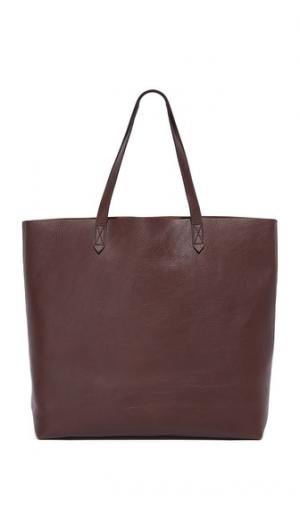 Объемная сумка с короткими ручками Transport Madewell