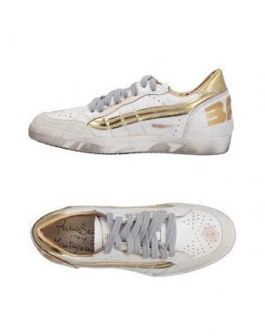 Низкие кеды и кроссовки PRIMABASE. Цвет: белый