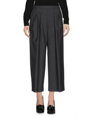 Повседневные брюки ANTONELLI. Цвет: свинцово-серый
