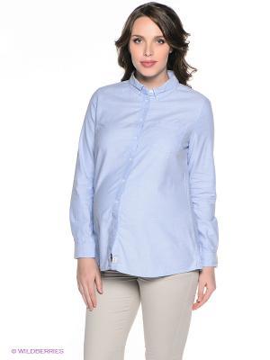 Рубашка ALIA. Цвет: голубой