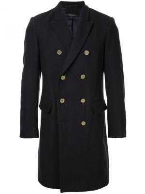 Двубортное пальто 3.1 Phillip Lim. Цвет: чёрный
