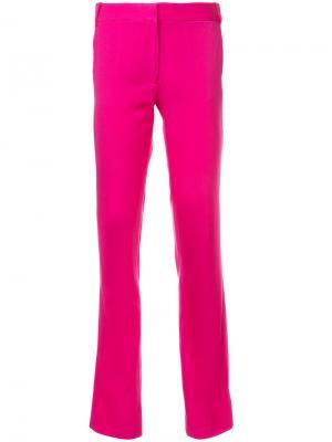 Прямые брюки Jodi Stella McCartney. Цвет: розовый и фиолетовый