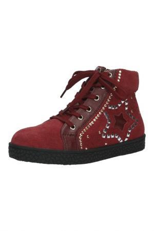 Ботинки Vitacci. Цвет: бордовый