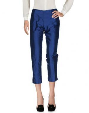 Повседневные брюки MARIE LOUISE. Цвет: синий