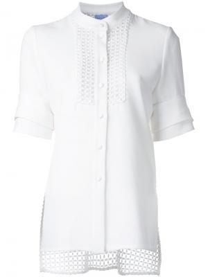 Рубашка Entitle Macgraw. Цвет: белый