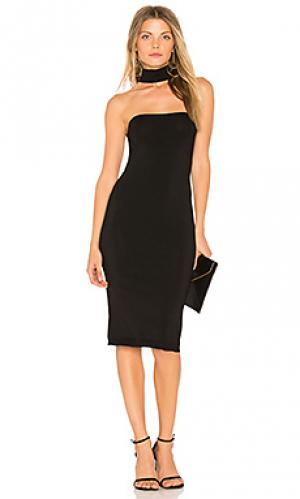 Платье amagansett Central Park West. Цвет: черный