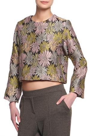 Блузка Cynthia Rowley. Цвет: бронзовый