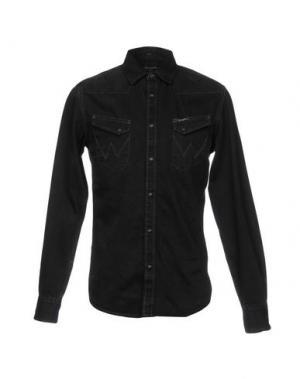 Джинсовая рубашка WRANGLER. Цвет: черный