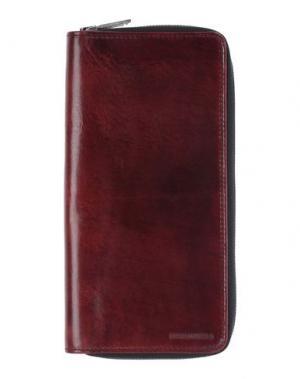 Чехол для документов DSQUARED2. Цвет: красно-коричневый