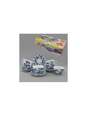 Набор чайный 12 пр. ПЕЙСЛИ LARANGE. Цвет: белый