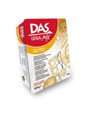 Das idea mix паста для моделирования, 100гр с имитацией нат. камня, imperial yellow. FILA. Цвет: белый, светло-желтый, красный