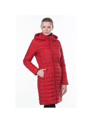 Пальто DEFREEZE. Цвет: красный