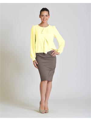 Блуза D.VA. Цвет: кремовый