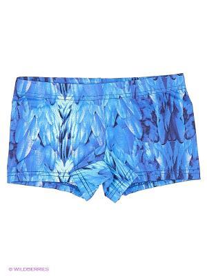 Плавки EMDI. Цвет: синий, голубой