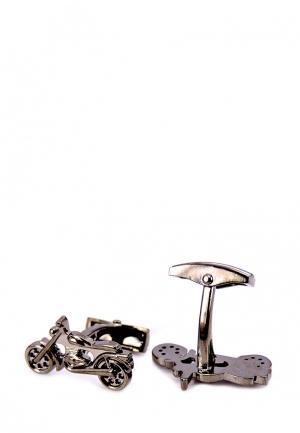 Запонки Churchill accessories. Цвет: золотой