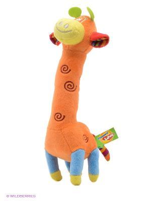 Жирафик MOMMY LOVE. Цвет: оранжевый