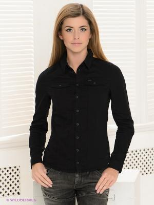 Рубашка G-STAR RAW. Цвет: черный
