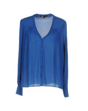Pубашка MAJE. Цвет: ярко-синий
