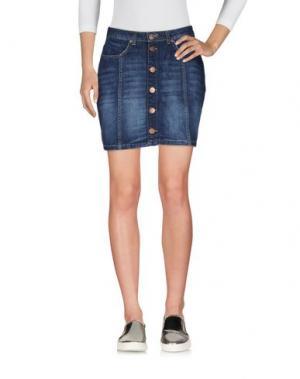 Джинсовая юбка 2ND ONE. Цвет: синий