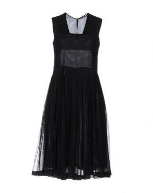 Платье до колена SARA LANZI. Цвет: черный